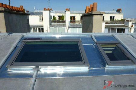 Pose Fenetre de toit Velux Paris Toiture Zinc