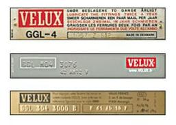 Trouver la Référence Fenêtre de Toit Velux